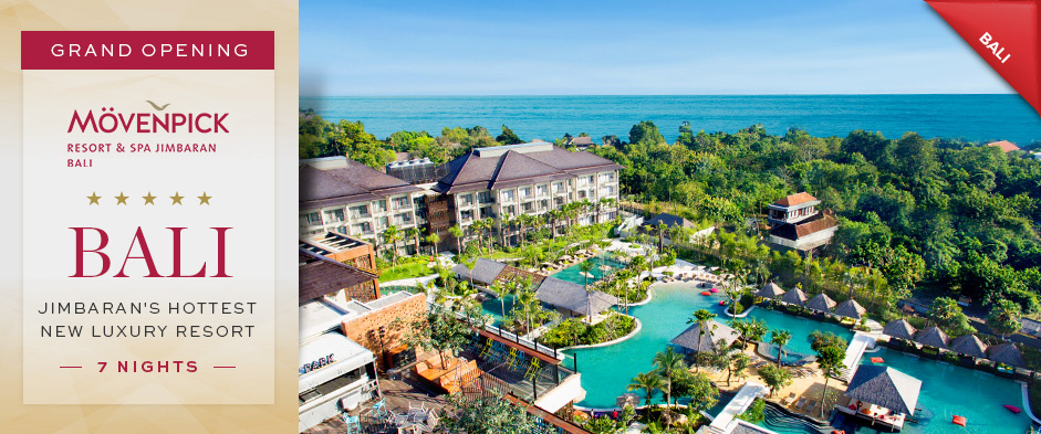 [EVENT] Mövenpick Resort & Spa Jimbaran Bali named as one of Top 10 Family Resort by Holidays with Kids Magazine