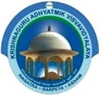 Krishnaguru Adhyatmik Visvavidyalaya Recruitment