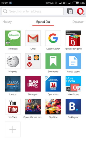 Opera Browser android