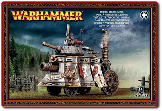 Warhammer Empire Steam Tank