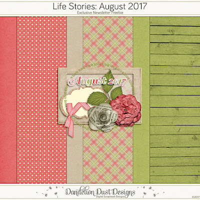 Life Stories : August 2017  by Dandelion Dust Designs