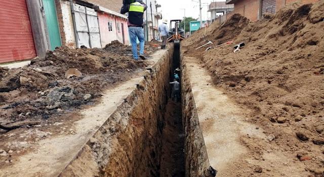 Inician obras para el cambio del tubo de drenaje en San Matías Cocoyotla