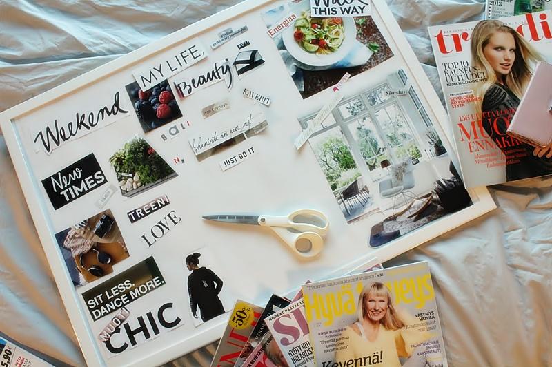 la dolce vita blog vision board
