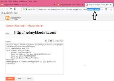Menghilangkan iklan adsense dihalaman pencarian blogger2