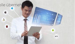 RealVNC Enterprise 6-7 برنامج التحكم عن بعد لسطح مكتب Windows Vista أو نظام Linux أو Mac