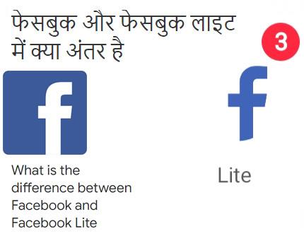 Facebook Aur Facebook Lite Mein Kya Antar Hai