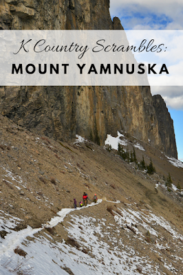 Hiking Guide to Mount Yamnuska, Bow Valley Wildland Provincial Park