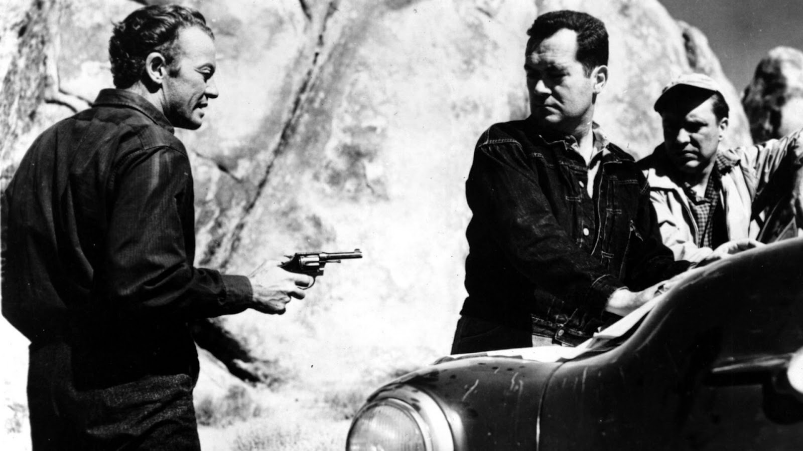 The Hitch-Hiker Edmond O'Brien Frank Lovejoy William Talman