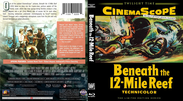 Beneath the 12-Mile Reef (1953) Bluray Cover