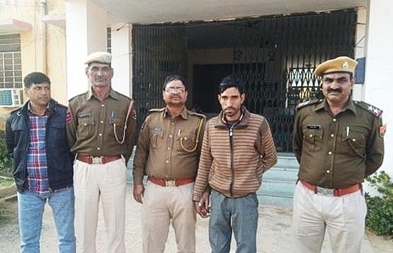झुंझुनूं के तातीजा में हुई चोरी की घटना को अंजाम देने वाले आरोपी को किया गिरफ्तार