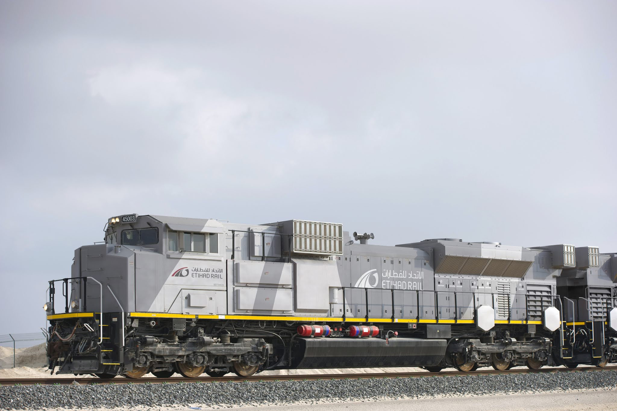 Etihad Rail building rail network with top class standards in the UAE