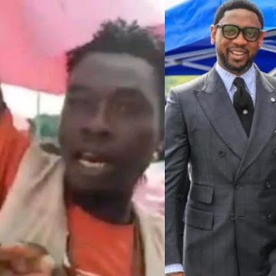 """I was paid 10k to protest in support of Pastor Fatoyinbo Protester Confesses"