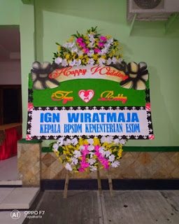 Papan Happy Wedding