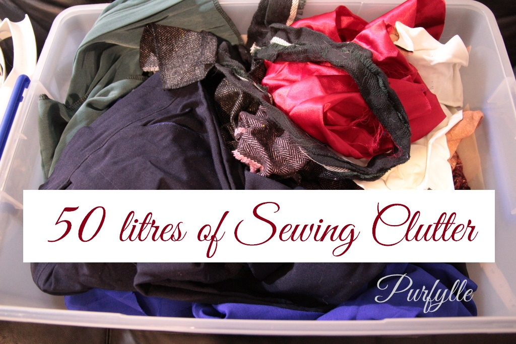 50 Litres Of Sewing Clutter - Part 1