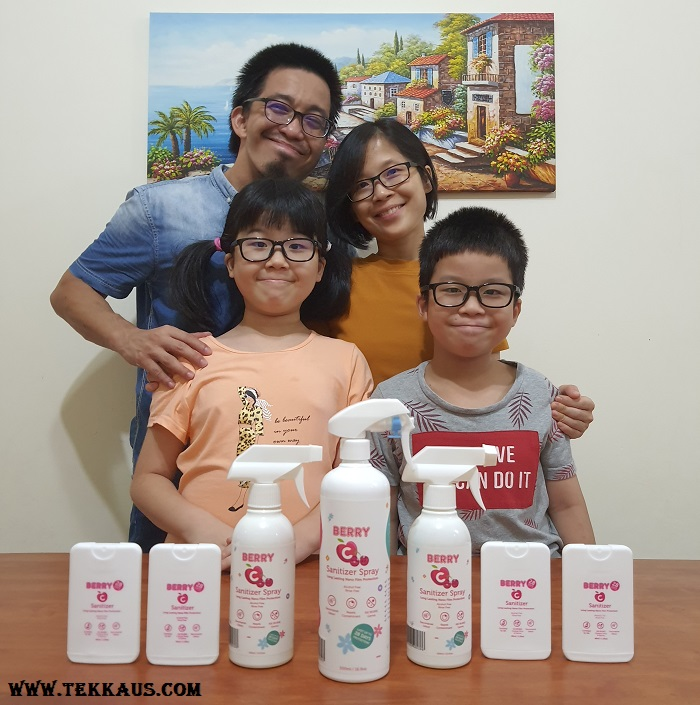 BerryC Sanitizer Spray Review