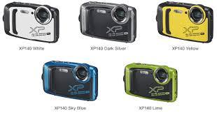 Fujifilm XP140 FinePixカメラファームウェアのダウンロード