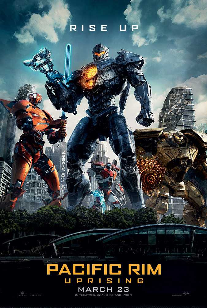 Poster Pacific Rim: Uprising 2018 Dual Audio HD 720p