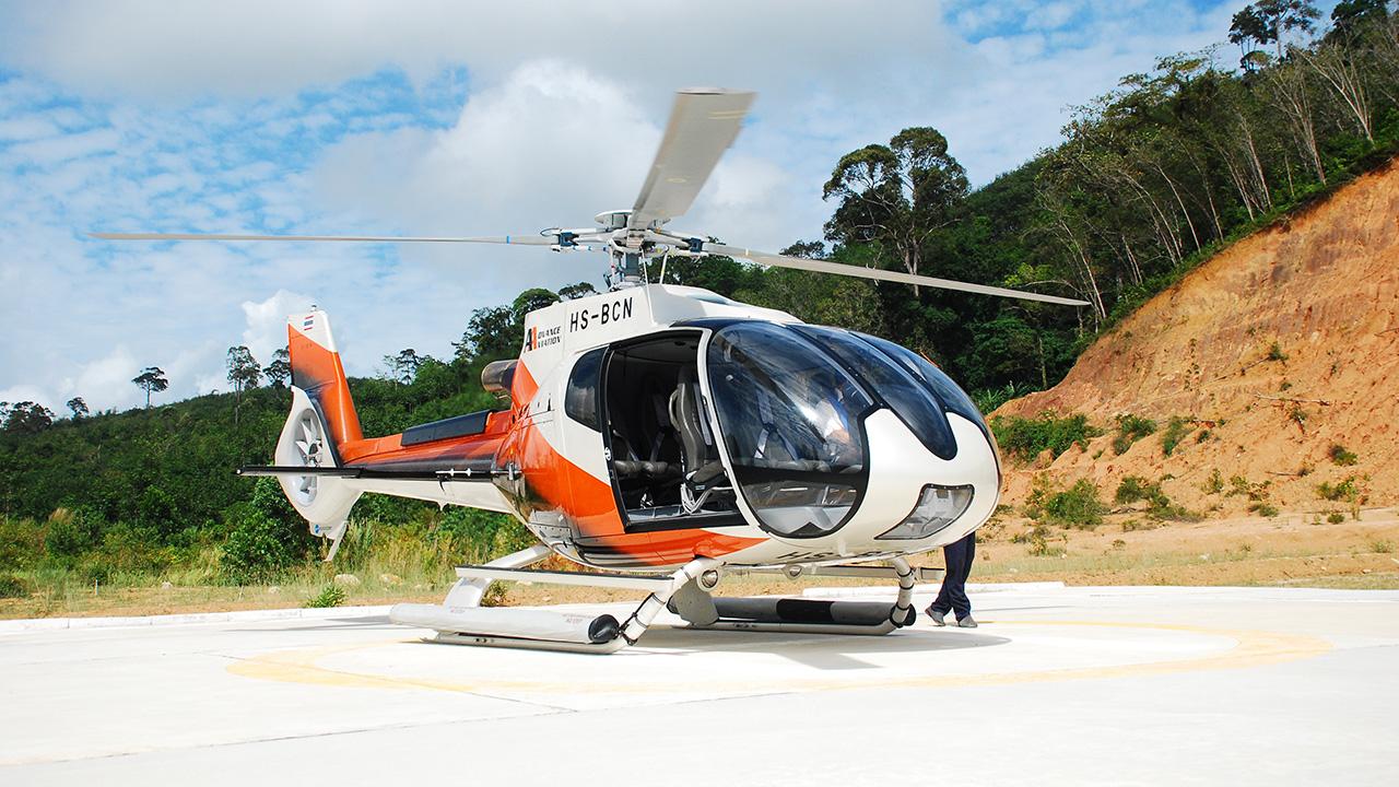 Phuket helicopter tour