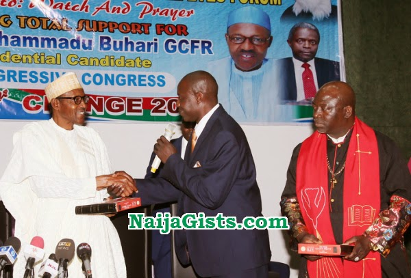 6000 pastors prayer buhari
