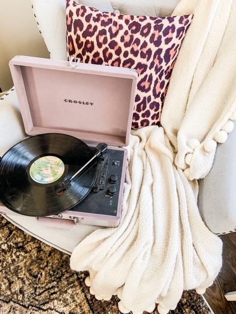 purple crosley record player