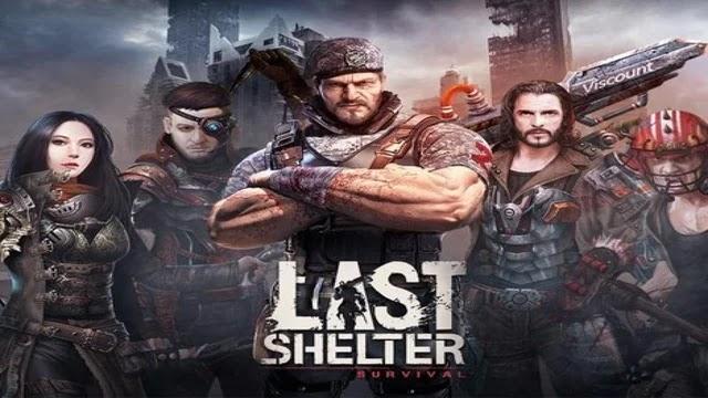 تحميل لعبة last shelter survival مهكرة