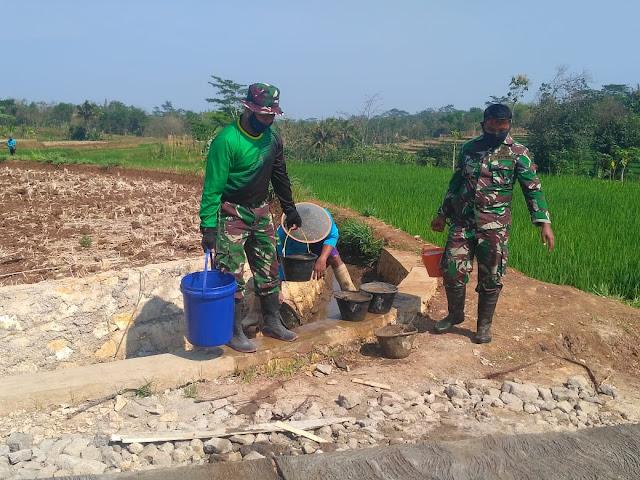 Menjaga Kwalitas Betonisasi Dengan Cara Penyiraman