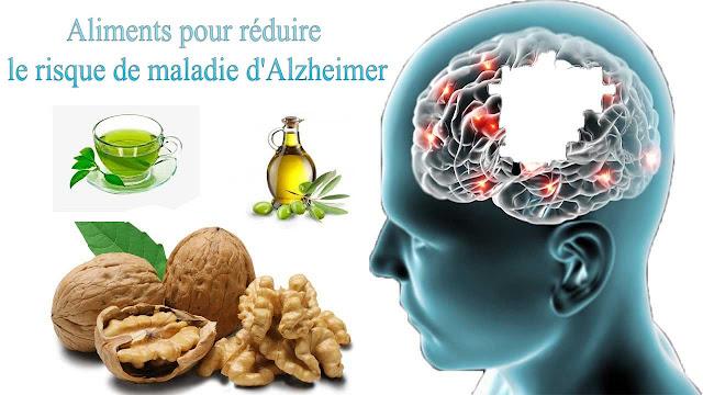 Aliments pour réduire le risque de maladie d'Alzheimer