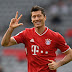 Lewandowski dá show e Bayern goleia o Frankfurt, mas RB Leipzig ainda lidera a Bundesliga