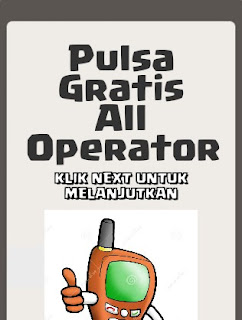 Script Phising Facebook Inject Pulsa Gratis All operator