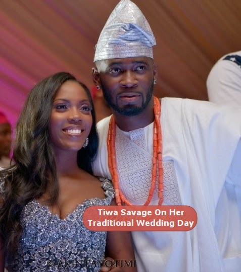 tiwa savage white wedding date