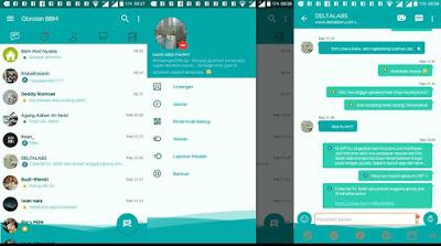 BBM MOD Ringan Tema Fresh Lite v3.2.5.12 APK Versi Terbaru Update 2017