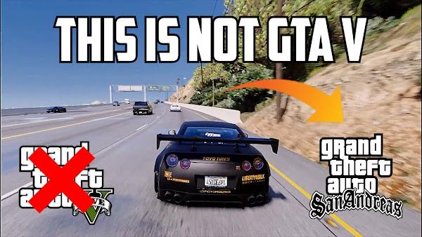 GTA San Andreas High Graphics Mod for PC 2021