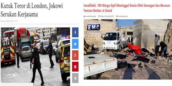 London Diteror, Jokowi Langsung Sampaikan Dukacita Mendalam, Suriah Dihujani Bom Racun, Mana Suara Jokowi?