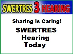 Swertres Hearing: Pcso Swertres Hearing For 9pm Today May 30 2019
