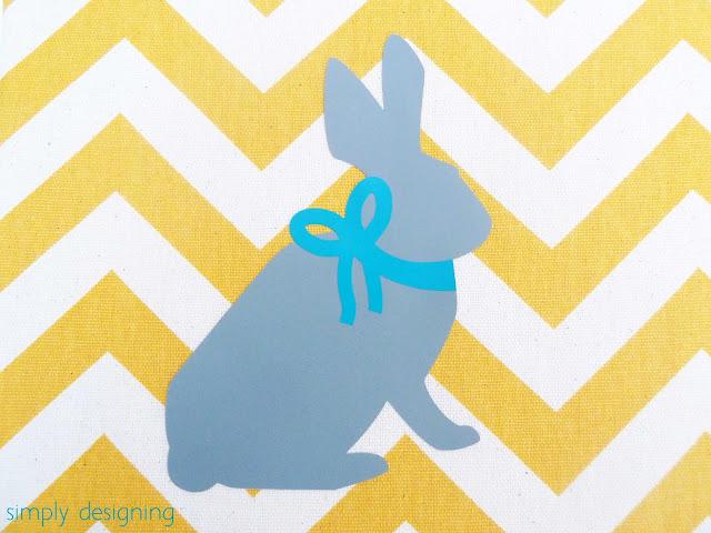 chevron bunny sign 03a Chevron Bunny Sign 13