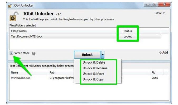 Delete File dan Folder yang Sulit Dihapus - iOBit Unlocker