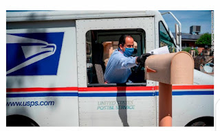 Postmaster General Louis DeJoy says USPS is fully capable of delivering the nation's election mail on-time