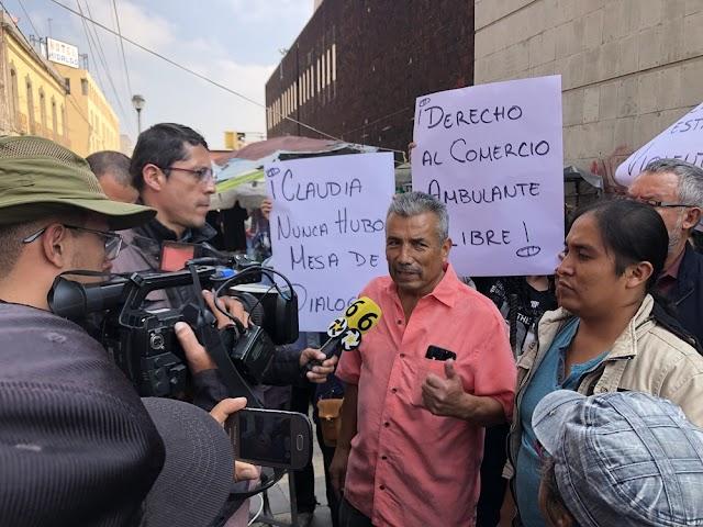 CNPA MN DENUNCIA EXTORSIÓN Y DESPOJO A AMBULANTES POR PARTE DE GCDMX