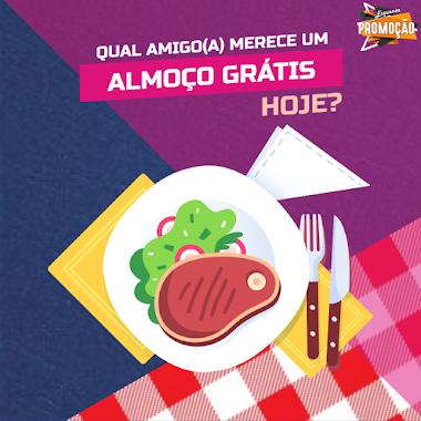 Qual Amigo(a) Merece um Almoço Grátis Hoje?
