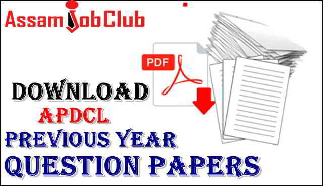 APDCL Question Papers