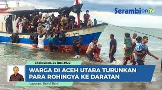 Warga Aceh Tak Rela Kapal Rohingya Menjauhi Pantai: Tarik Kemari, Kami yang Beri Makan