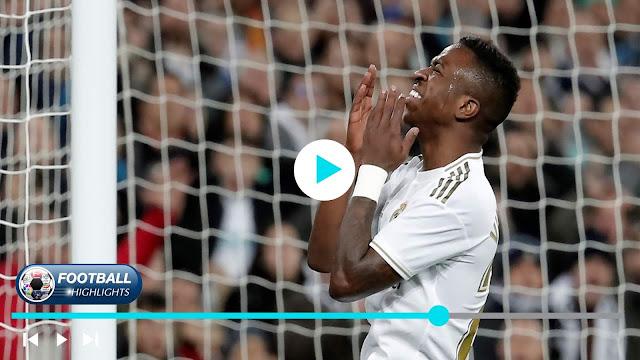 Real Madrid vs Athletic Club Highlights