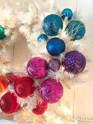 Christmas,Christmas Decor Themes,Christmas Decor,Christmas tree,color,color palettes,colorful home,decorating,DIY,diy decorating,dollar store crafts,holiday,ornaments,seasonal,wall art,wreaths,winter,roygbiv,rainbow aesthetic,ombre,Dollar Tree decor,rainbow palette,roygbiv palette,rainbow ombre,colorful Christmas,merry and bright,