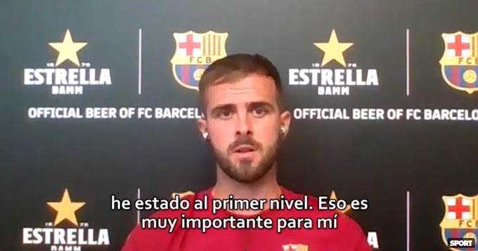 Barcelona midfielder Pjanic has revealed it took the Catalan four times to sign him during his career