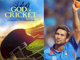 God of cricket' to be released on Sachin Tendulkar's 48th birthday, motion poster of the film surfaced.