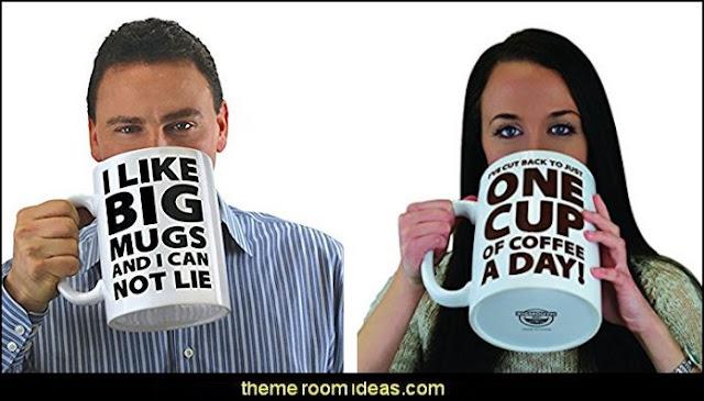 I Like Big Mugs... Gigantic Coffee Mug
