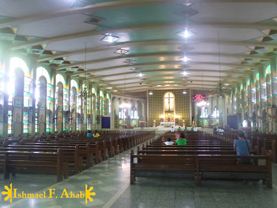 Inside Our Lady of Mt. Carmel Church, Cebu City