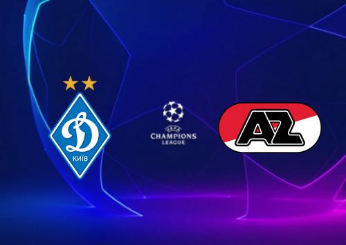 Dynamo Kyiv vs AZ -Highlights 15 September 2020