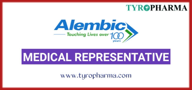 Alembic Pharmaceuticals Ltd Medical Representative jobs in all over India