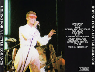 Bowie Tour Japan 1978